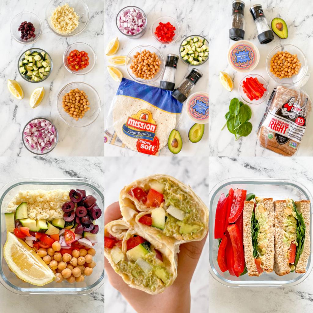 3 no-cook vegan meals