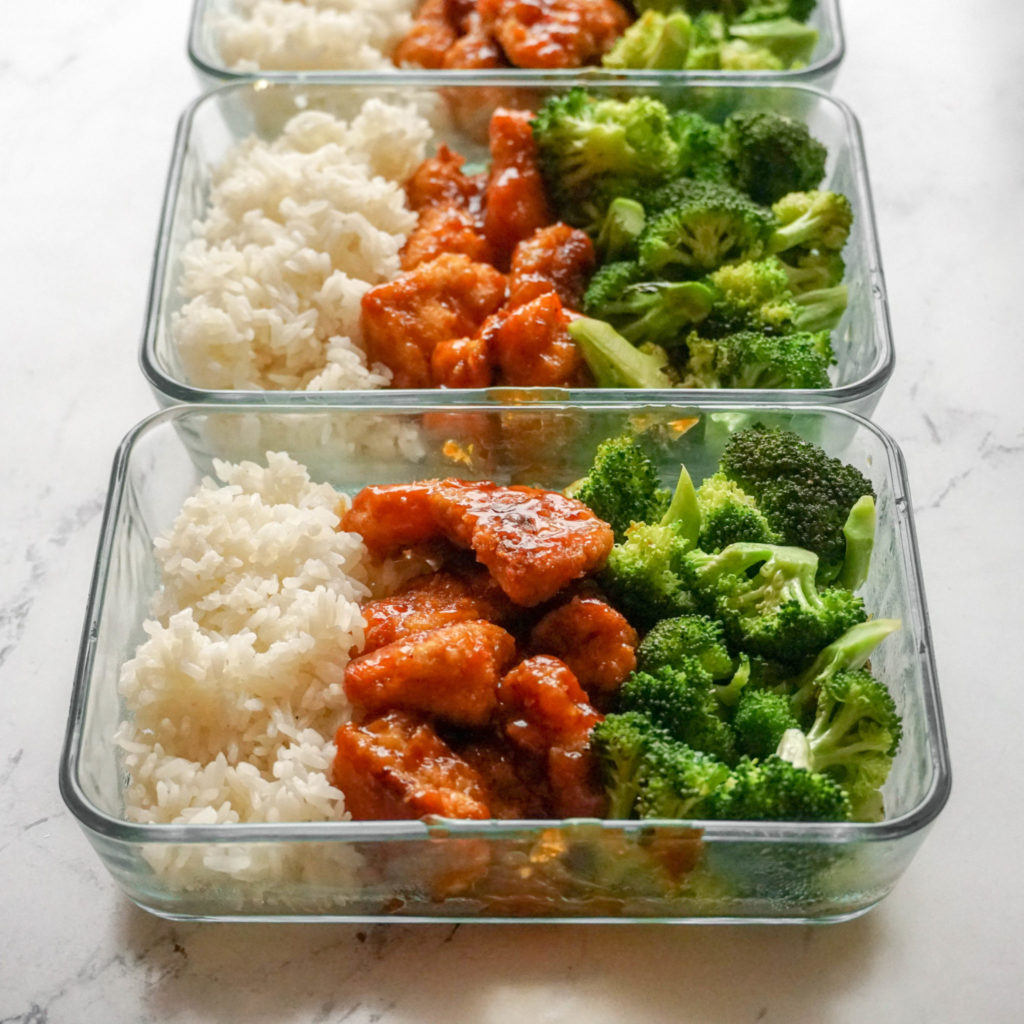 Orange Baked Chicken for Meal Prep- Perfect for kids!