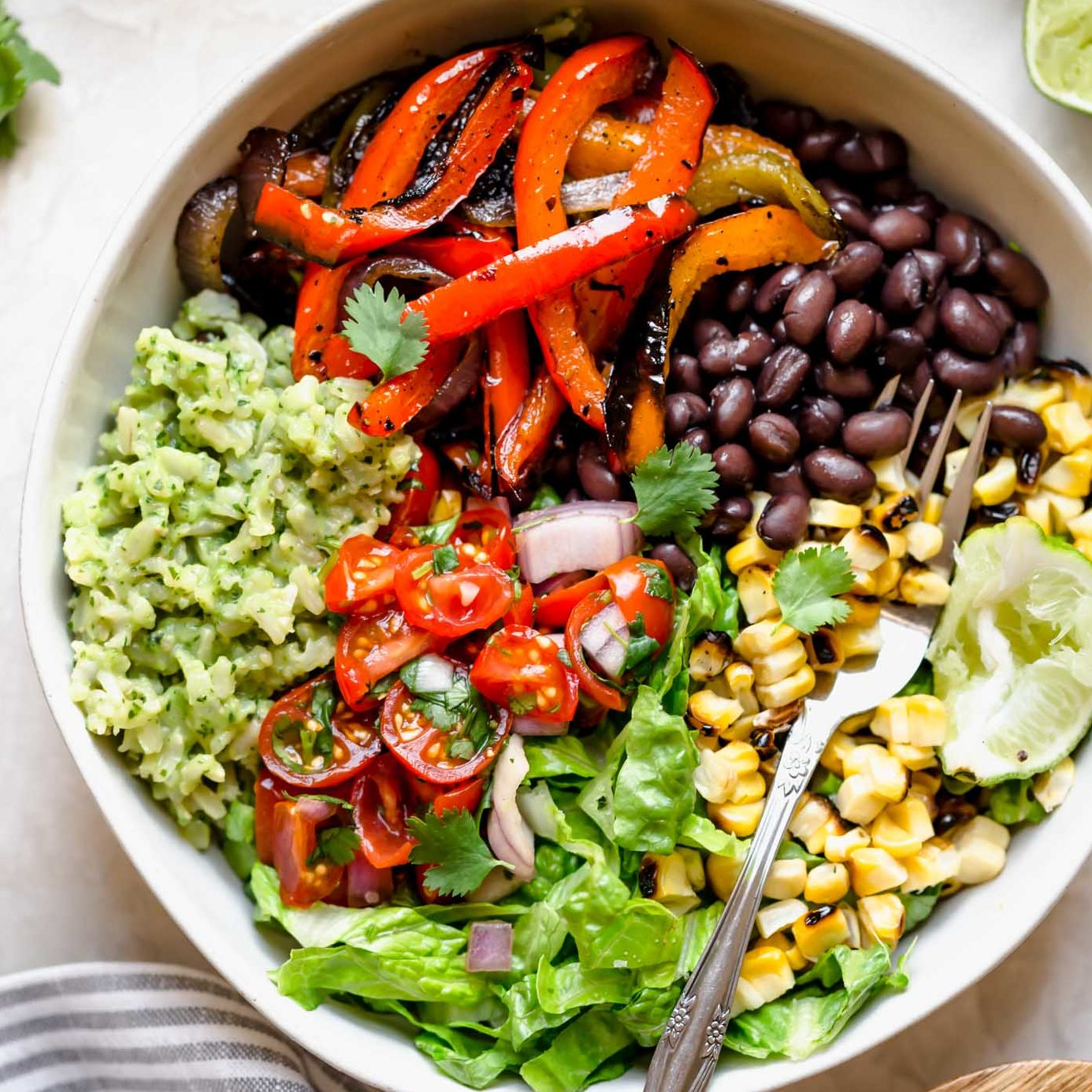 veggie burrito bowl by plays well with butter