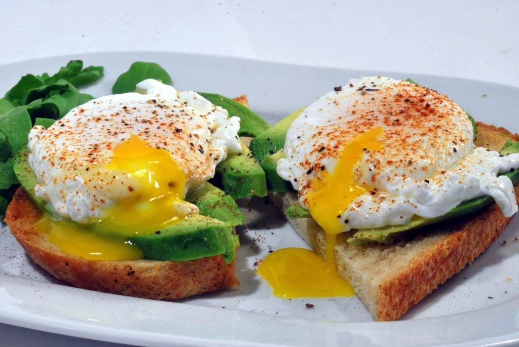 breakfast ideas- avocado toast