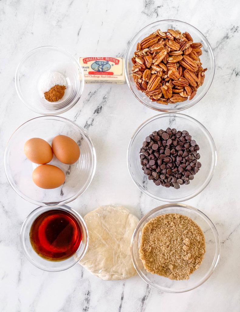 chocolate pecan pie ingredients