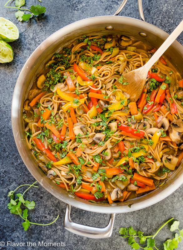 vegetarian peanut pasta