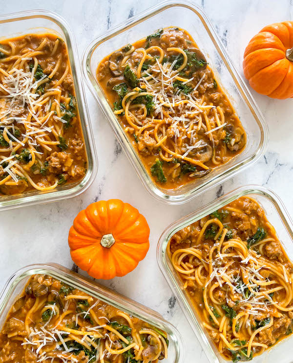 pumpkin pasta for fall