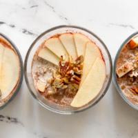 Apple Pie Overnight Oats (Easy Breakfast Meal Prep!)